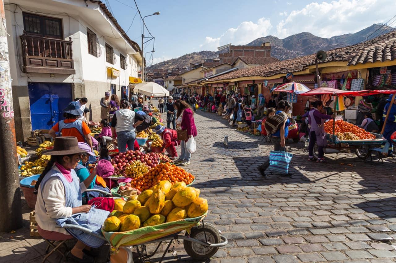 Ruela em Cusco, Peru