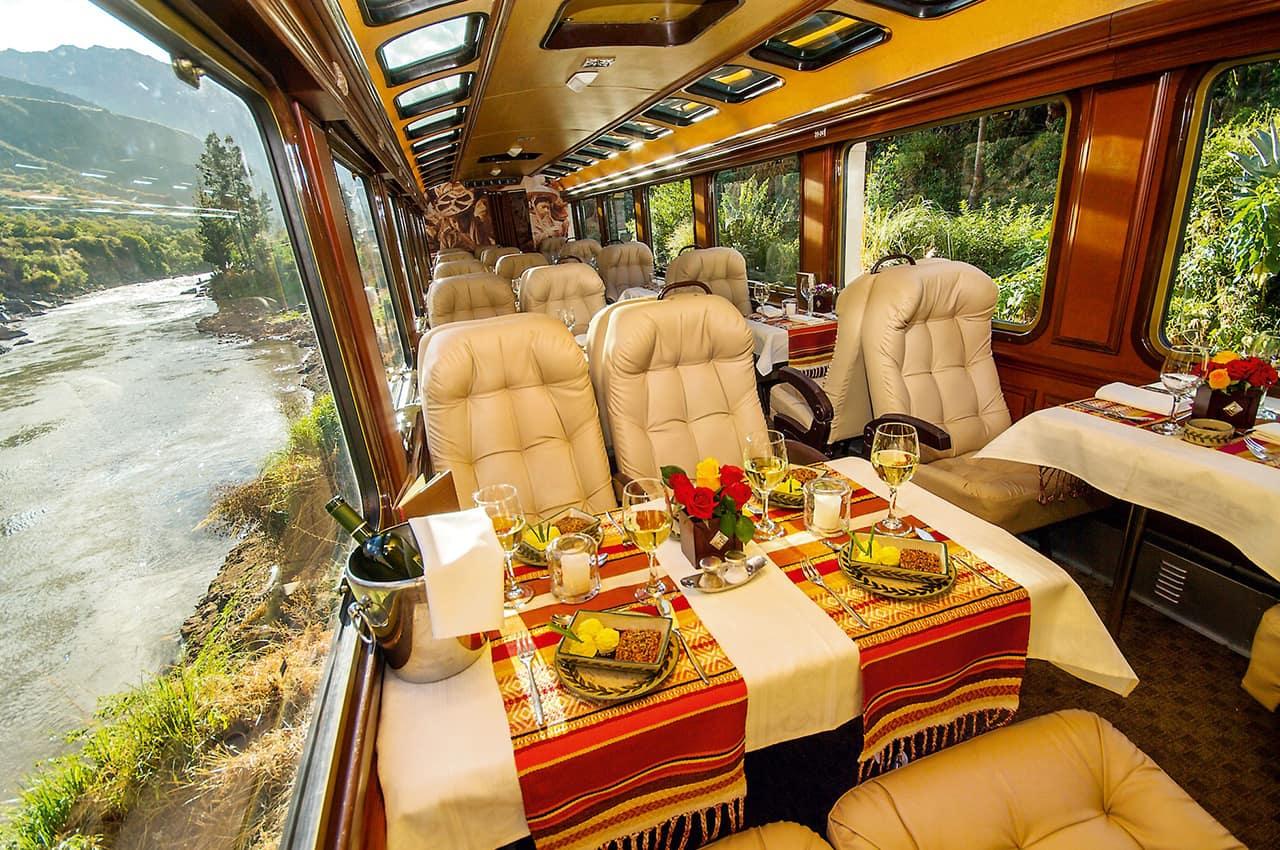Inca Rail Primeira Classe, Machu Picchu, Peru
