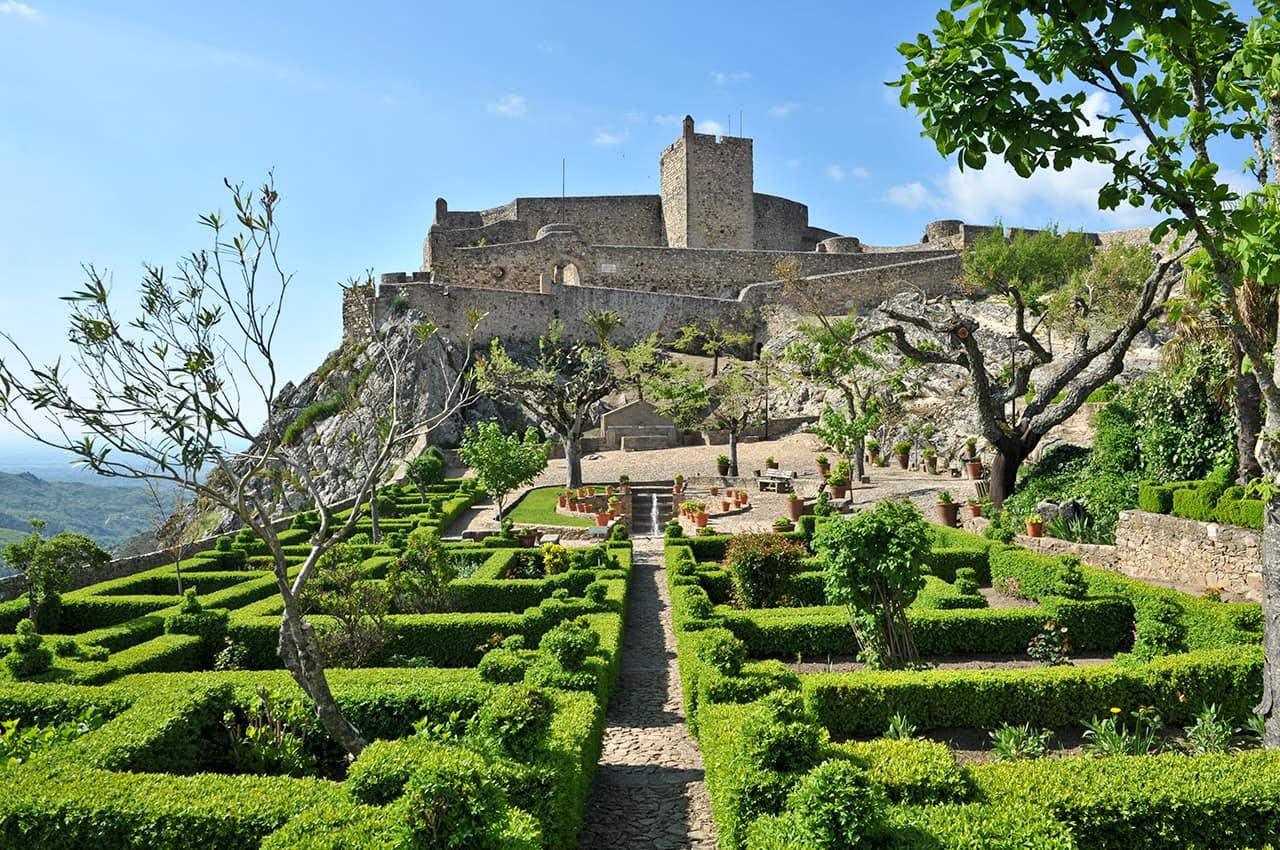 Castelo de Marvao Alentejo Portugal