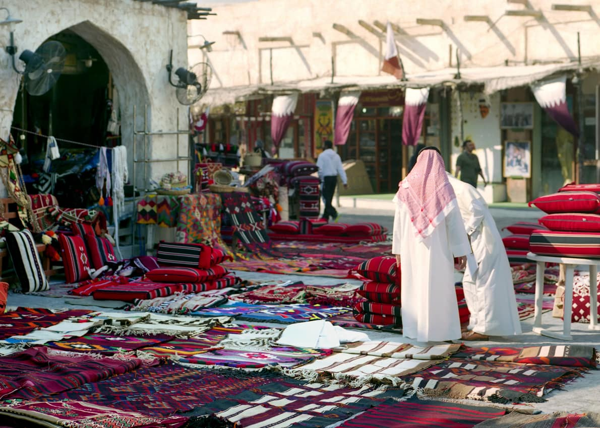 Atração turística Souq Waqif, Doha, Qatar