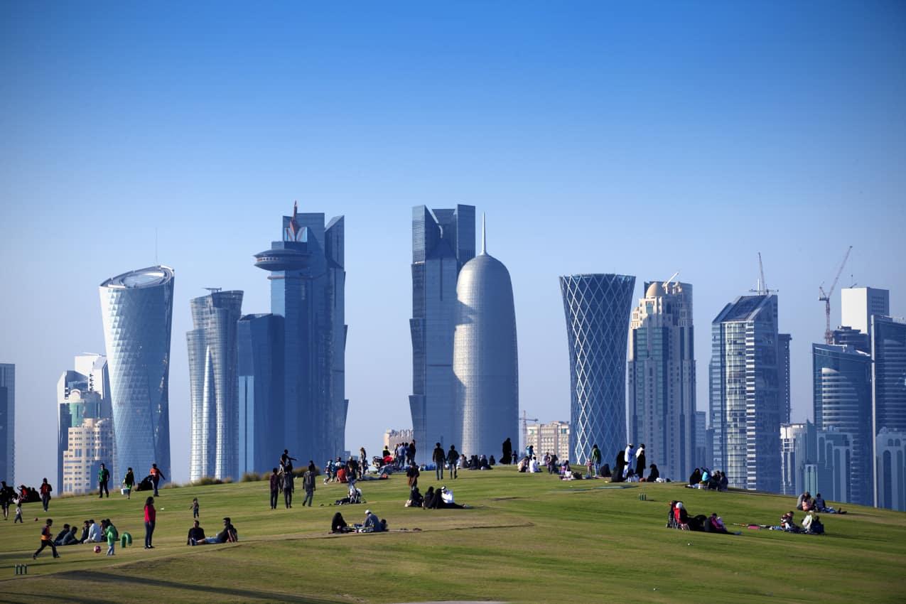 Ponto turístico Parque Central, Doha, Qatar