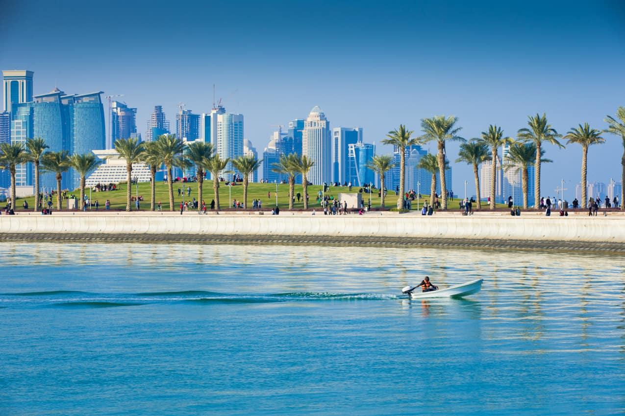 Ponto turístico Parque Central, Doha turismo Qatar