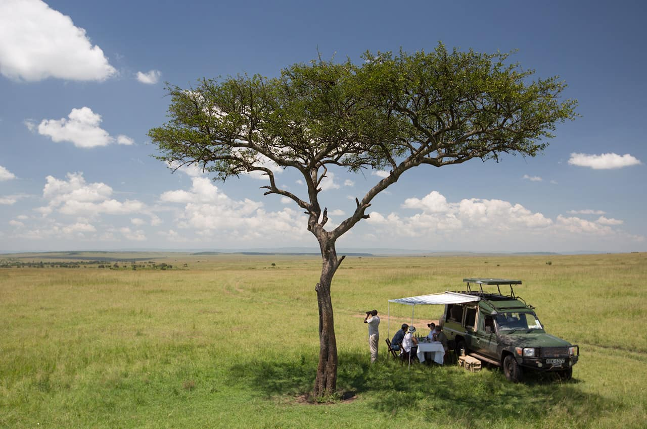 Atividade Sand River Masai Mara