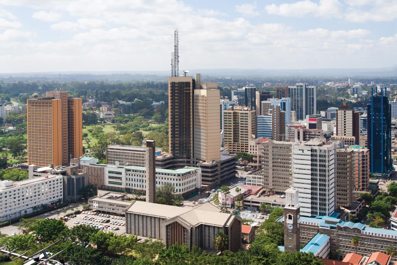 Destino capital Nairobi Quênia