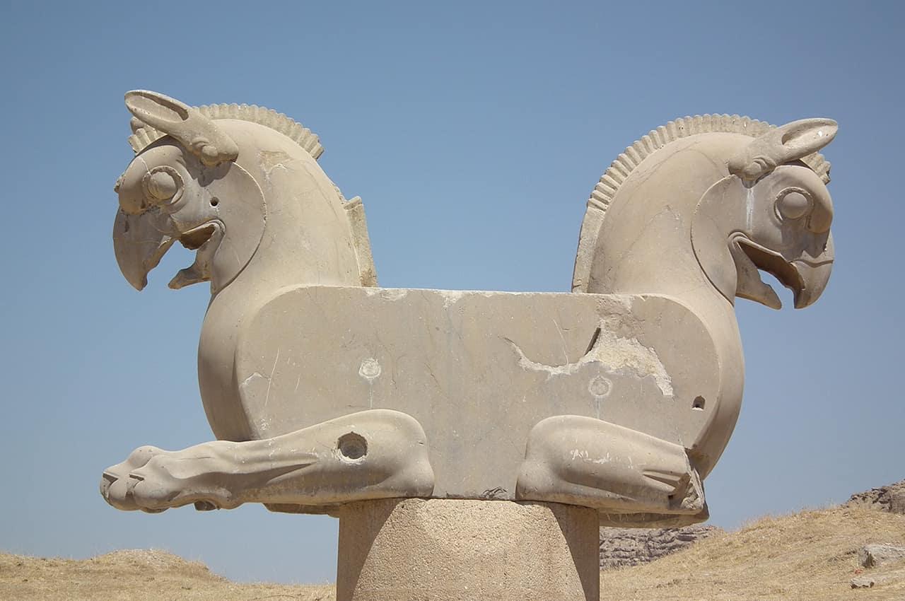 Ruínas em Shiraz
