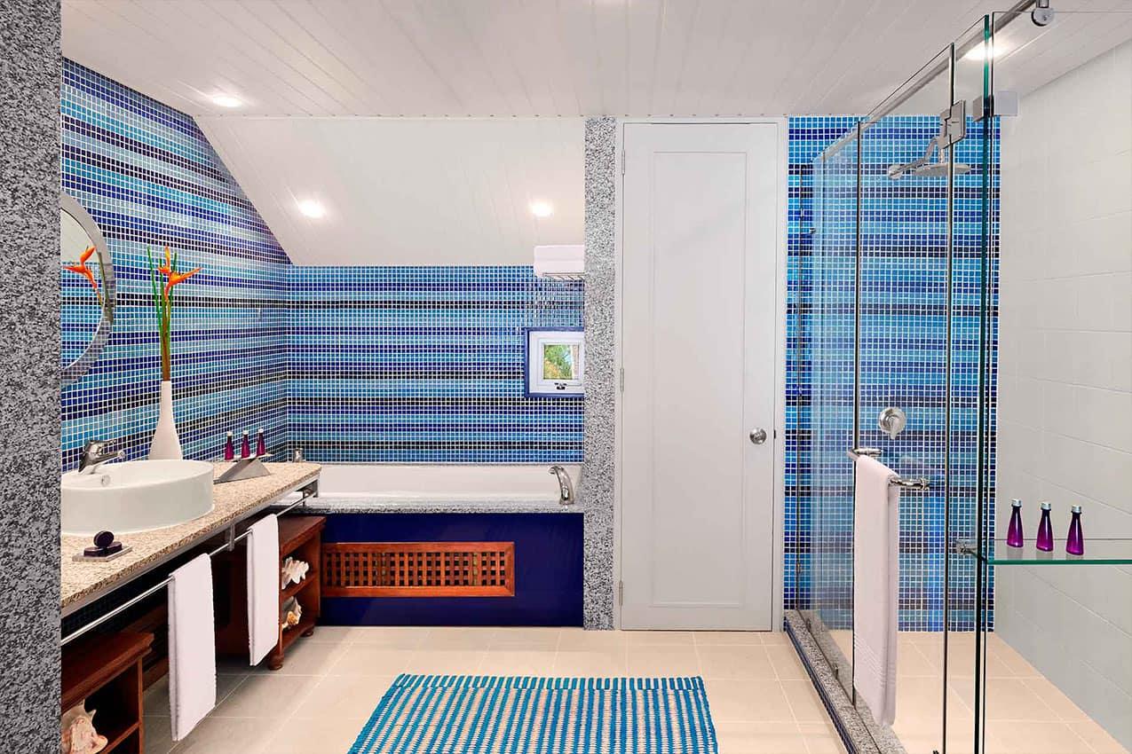 Banheiro Avani Beachfront Room Avani Seychelles Barbarons