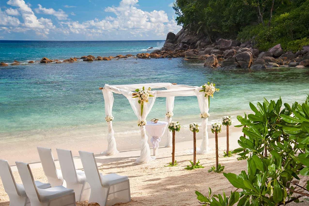 Casamento na praia Avani Seychelles Barbarons