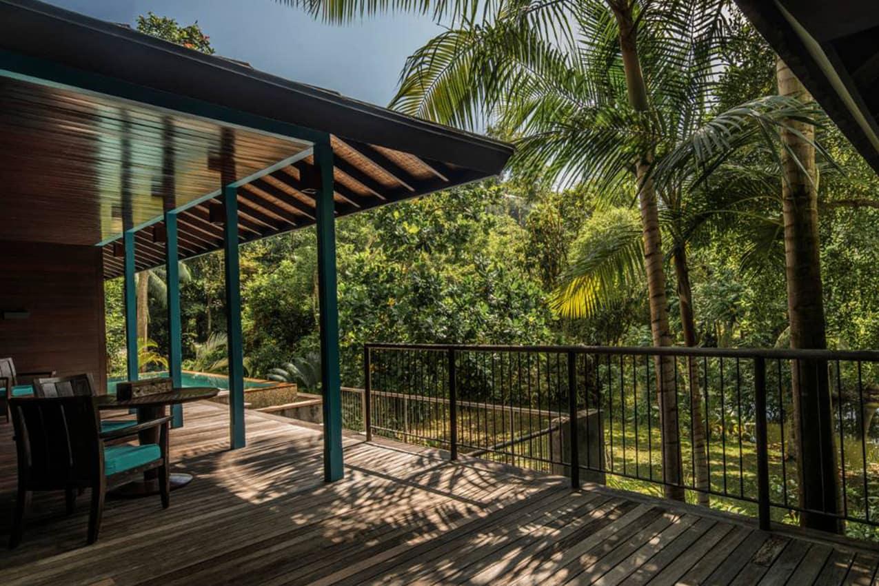 Deck Garden View Villa, Four Seasons Seychelles