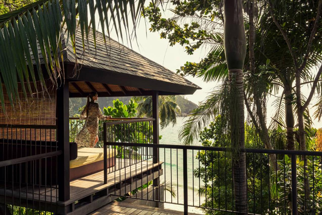 Deck Ocean View Villa, Four Seasons Seychelles