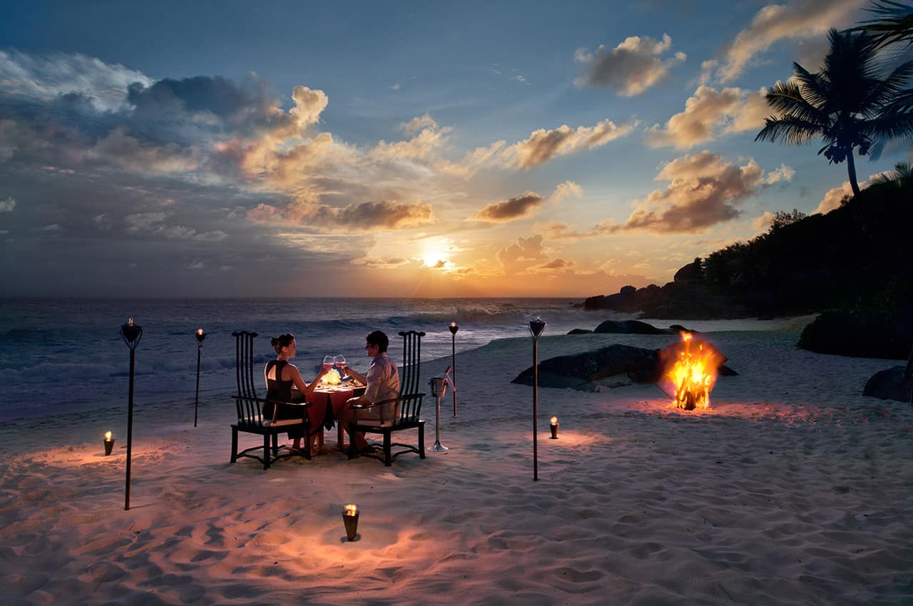 Experiência Destination Dining, Banyan Tree Seychelles