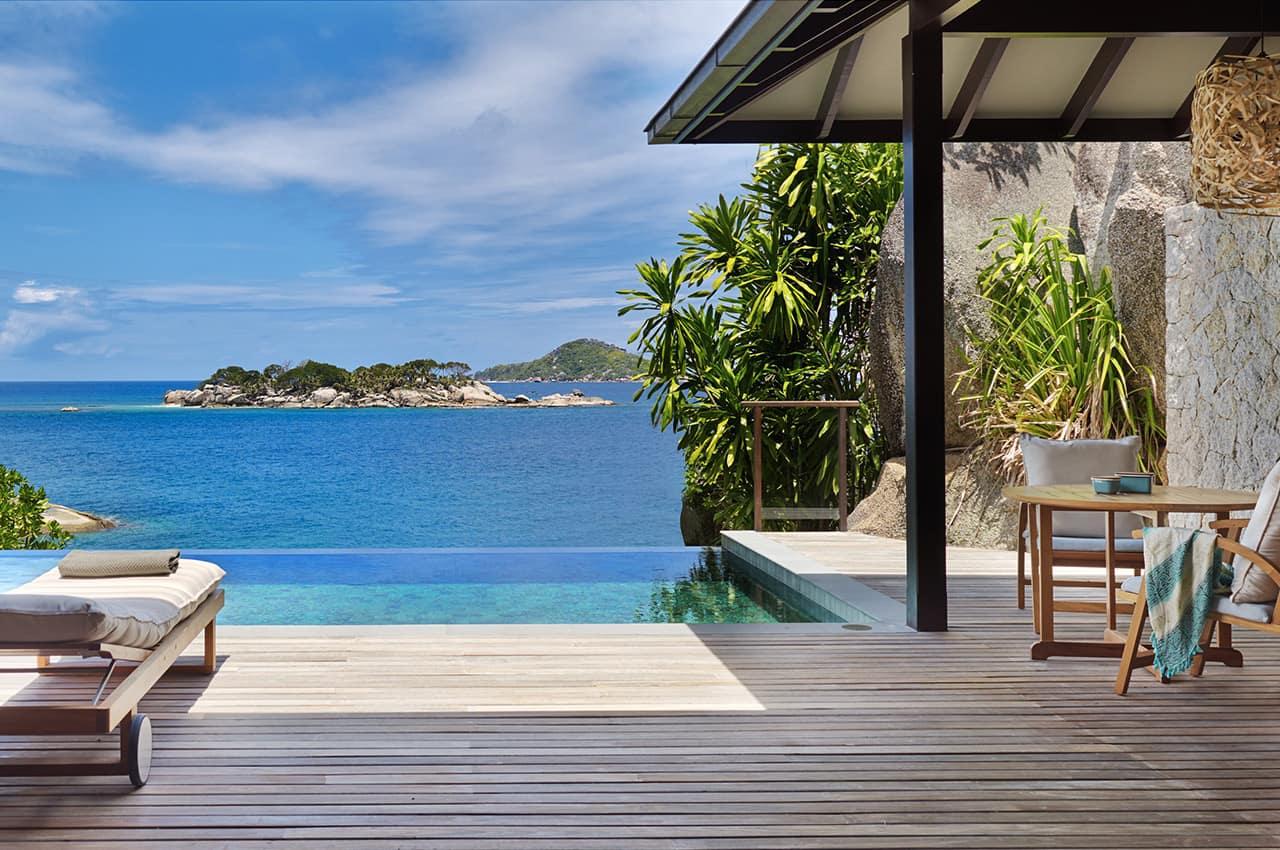 Hideaway Pool Villa, Six Senses Zil Pasyon