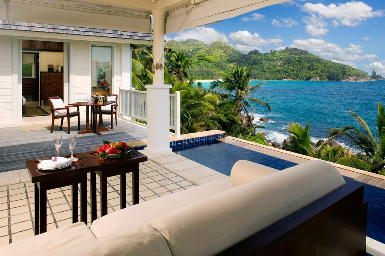 Intendance Pool Villa, Banyan Tree Seychelles