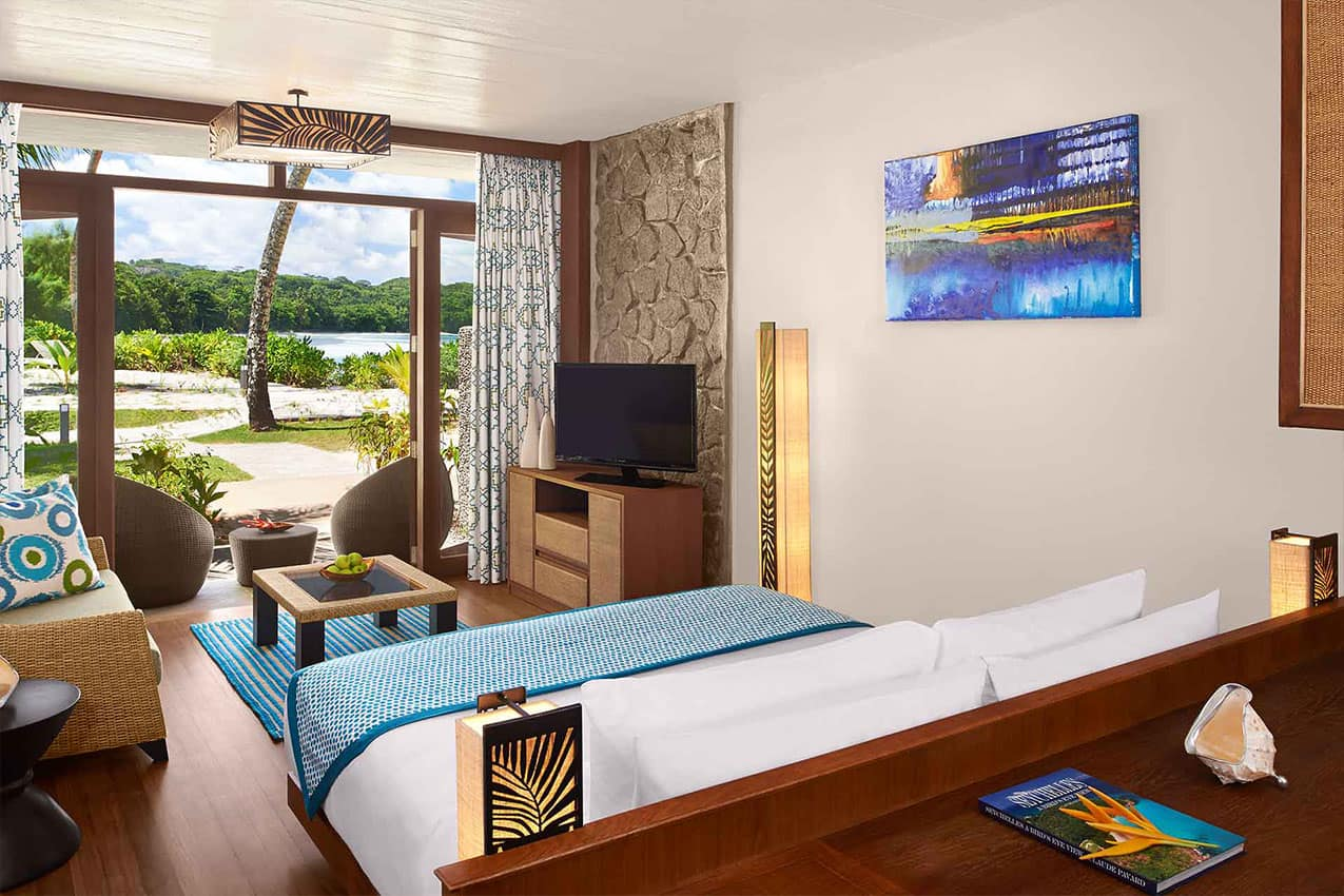 Interior Avani Beachfront Room Avani Seychelles Barbarons