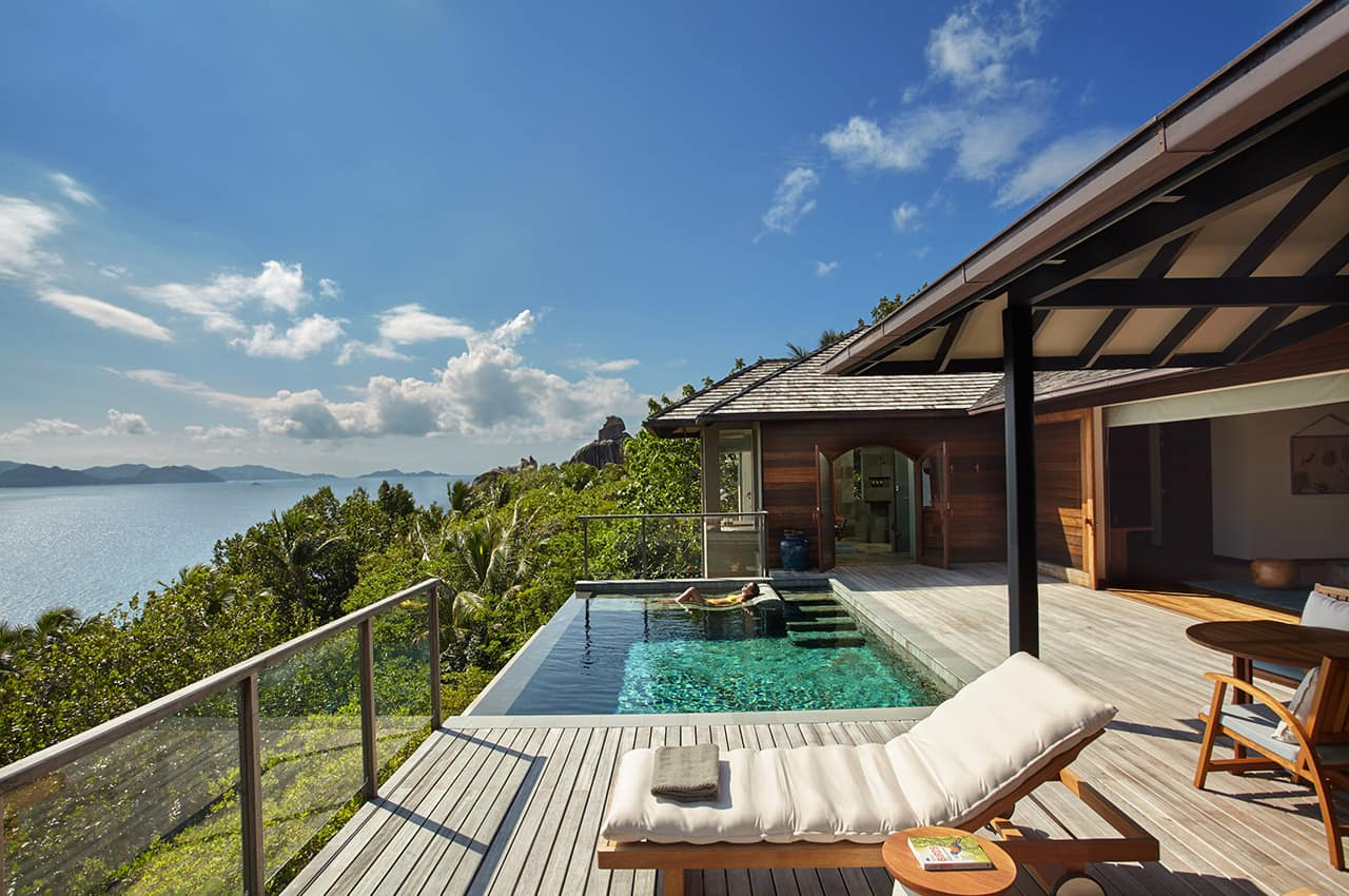 Panorama Pool Villa, Six Senses Zil Pasyon
