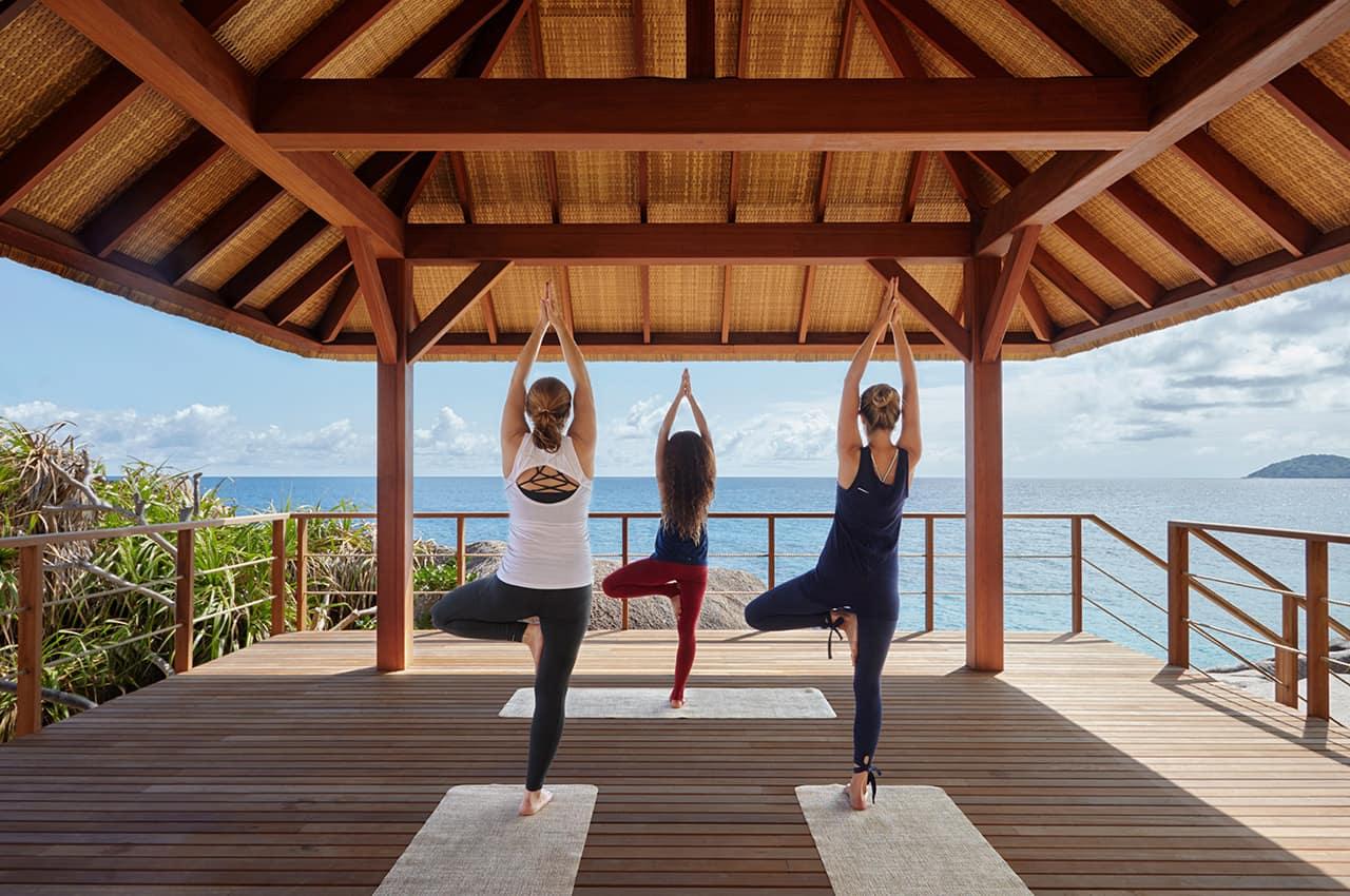Pavilhão de yoga, Six Senses Zil Pasyon