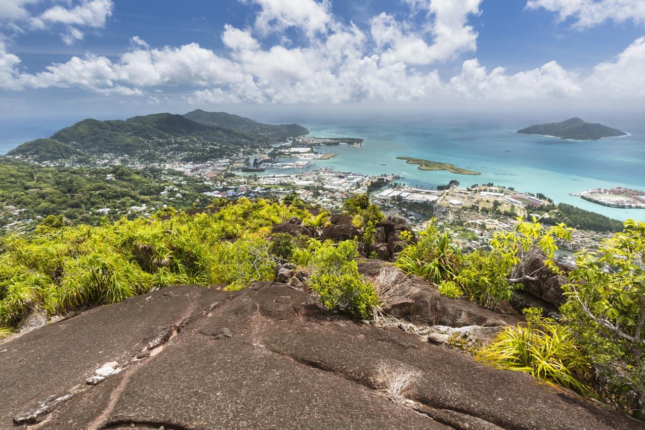 Ponto turístico Monte Copolia, Mahé, Ilhas Seychelles