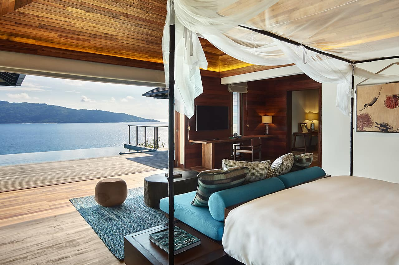 Pool Villa, Six Senses Zil Pasyon
