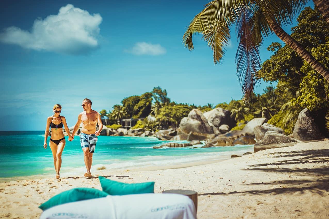 Praia CaranaBeach, Ilhas Seychelles