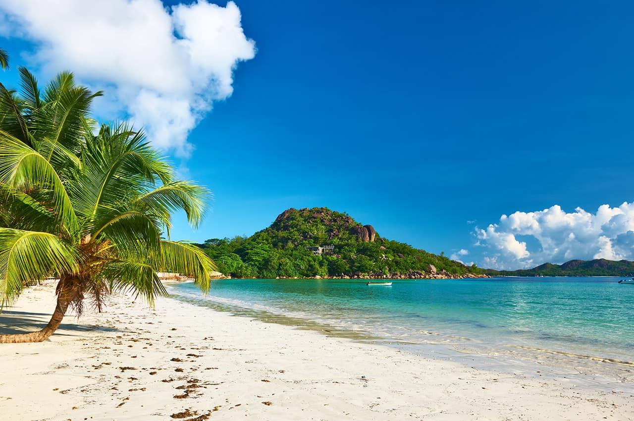 Praia em Seycheles