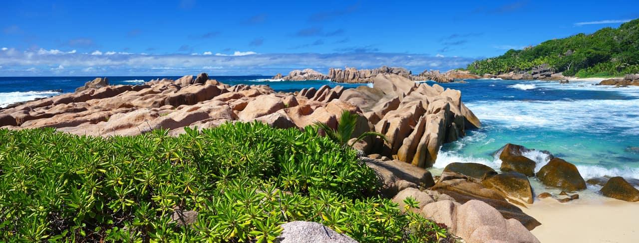 Praia turismo Ilhas Seychelles
