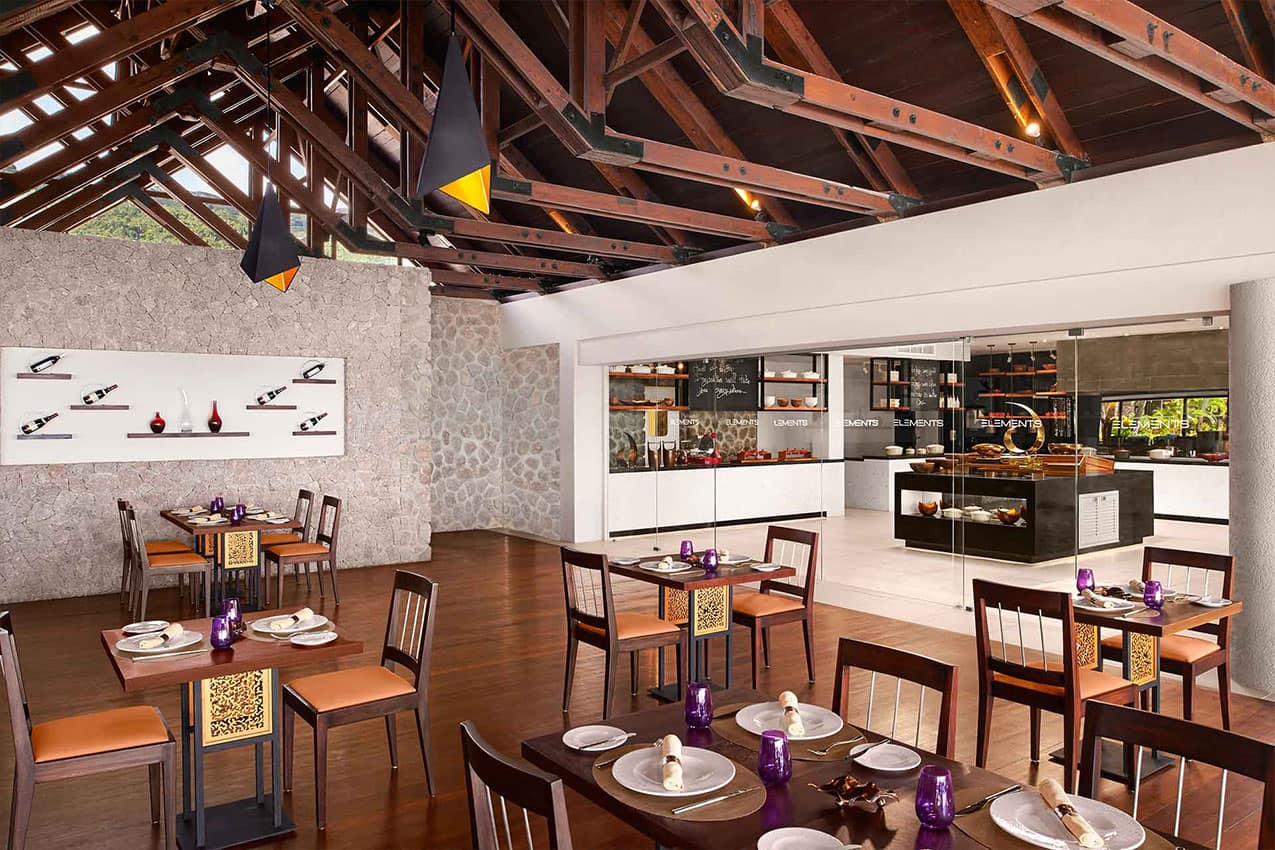 Restaurante Elements Avani Seychelles Barbarons