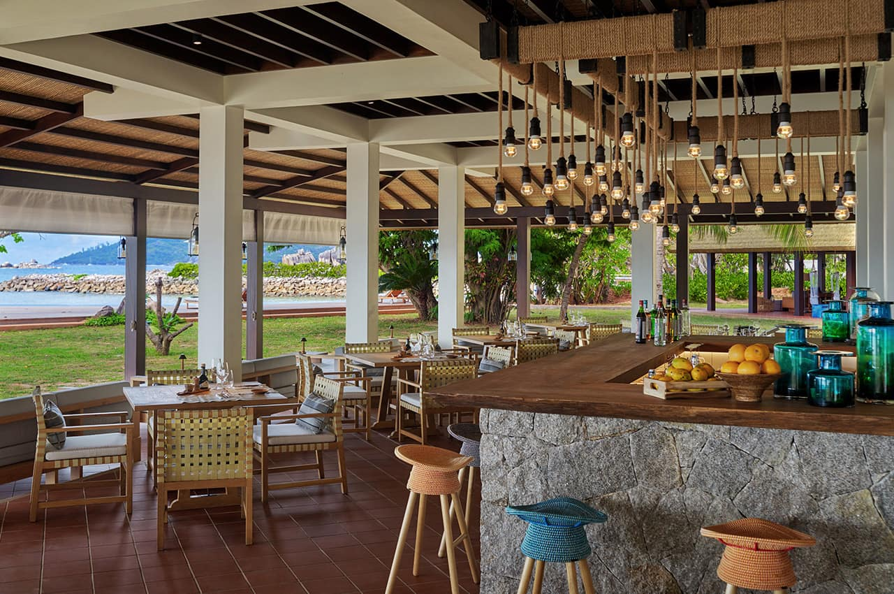 Restaurante Island Cafe, Six Senses Zil Pasyon
