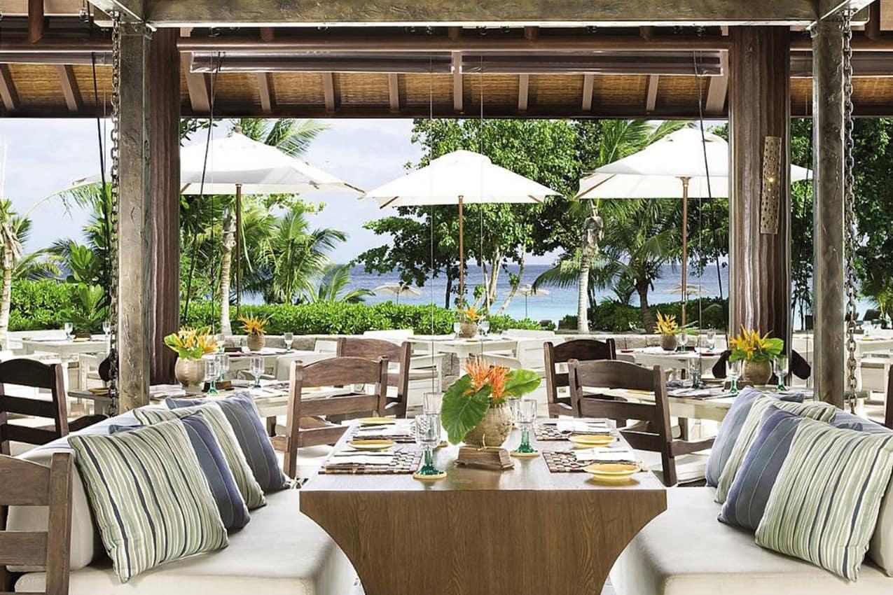 Restaurante Kannel, Four Seasons Seychelles