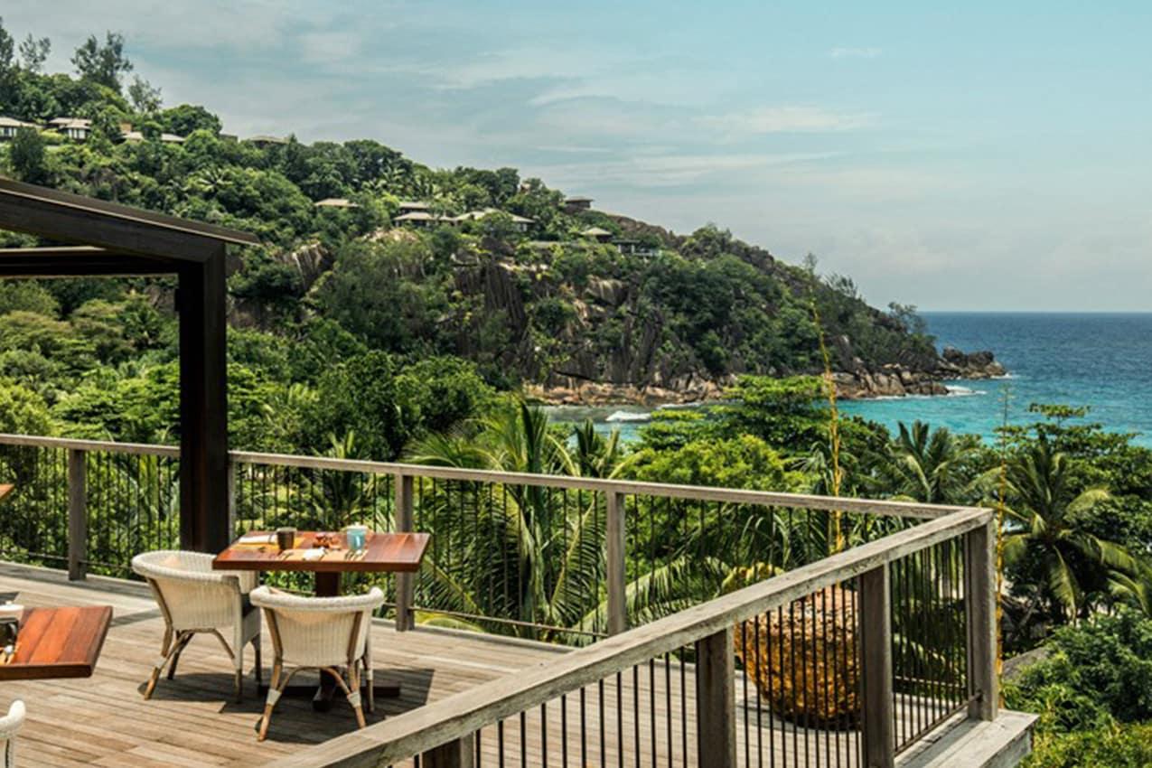 Restaurante ZEZ, Four Seasons Seychelles