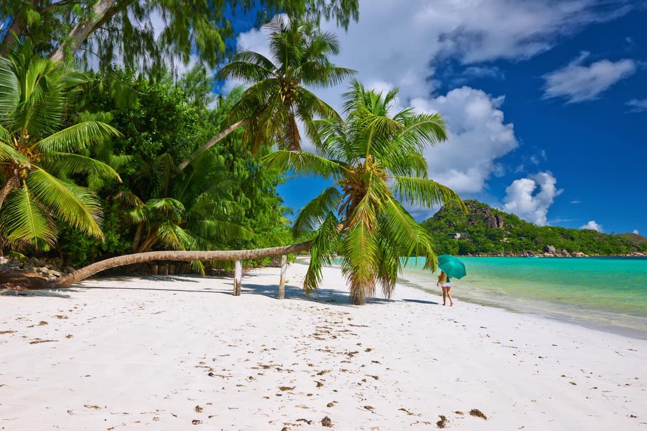 Romance lua de mel, Ilhas Seychelles