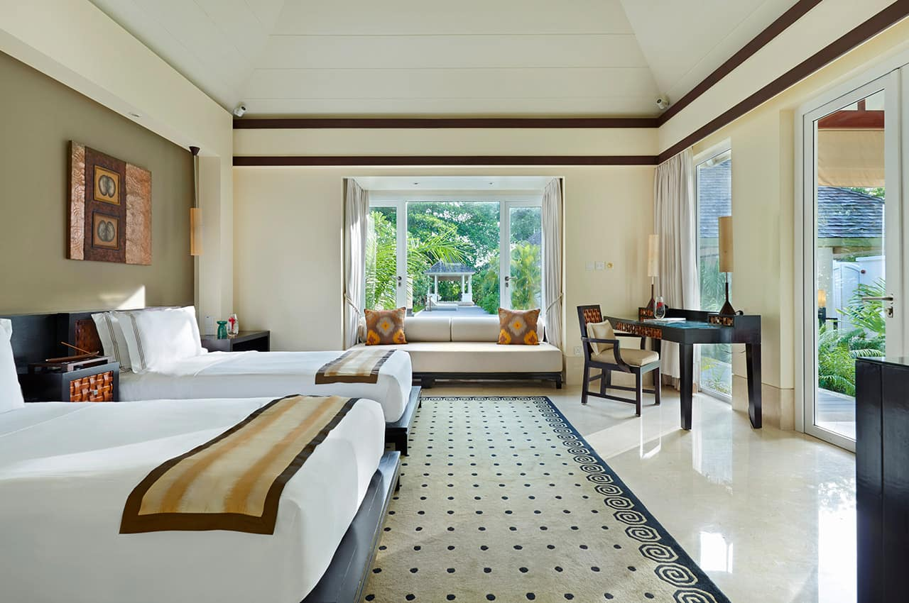Villa Twin Room, Banyan Tree Seychelles
