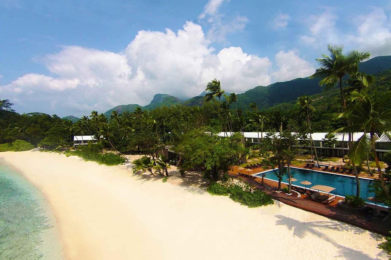 Vista aérea Avani Seychelles Barbarons