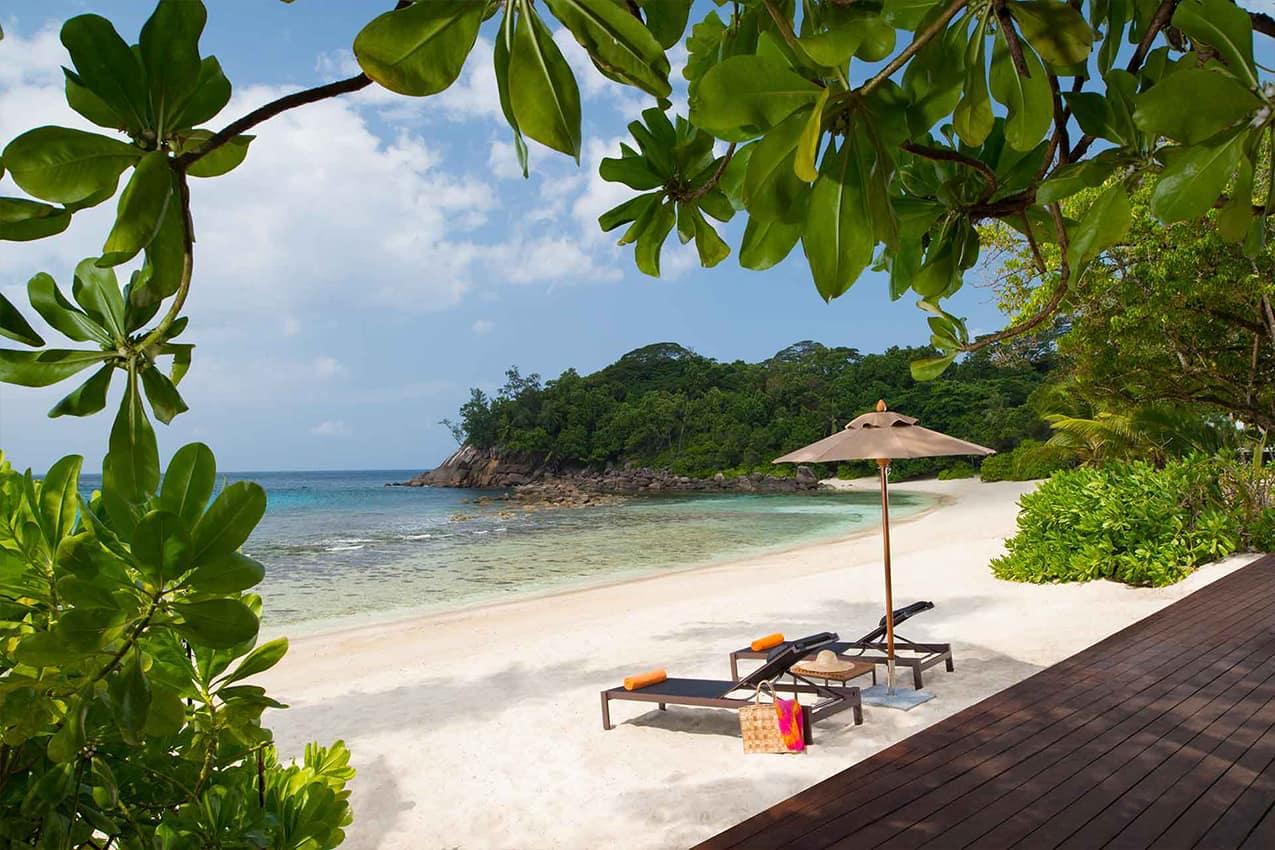 Vista praia Avani Seychelles Barbarons