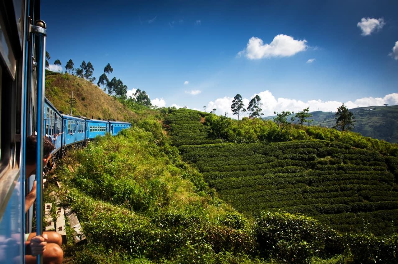 Atividades passeios trem Nuwara Eliya Kandy, Sri Lanka
