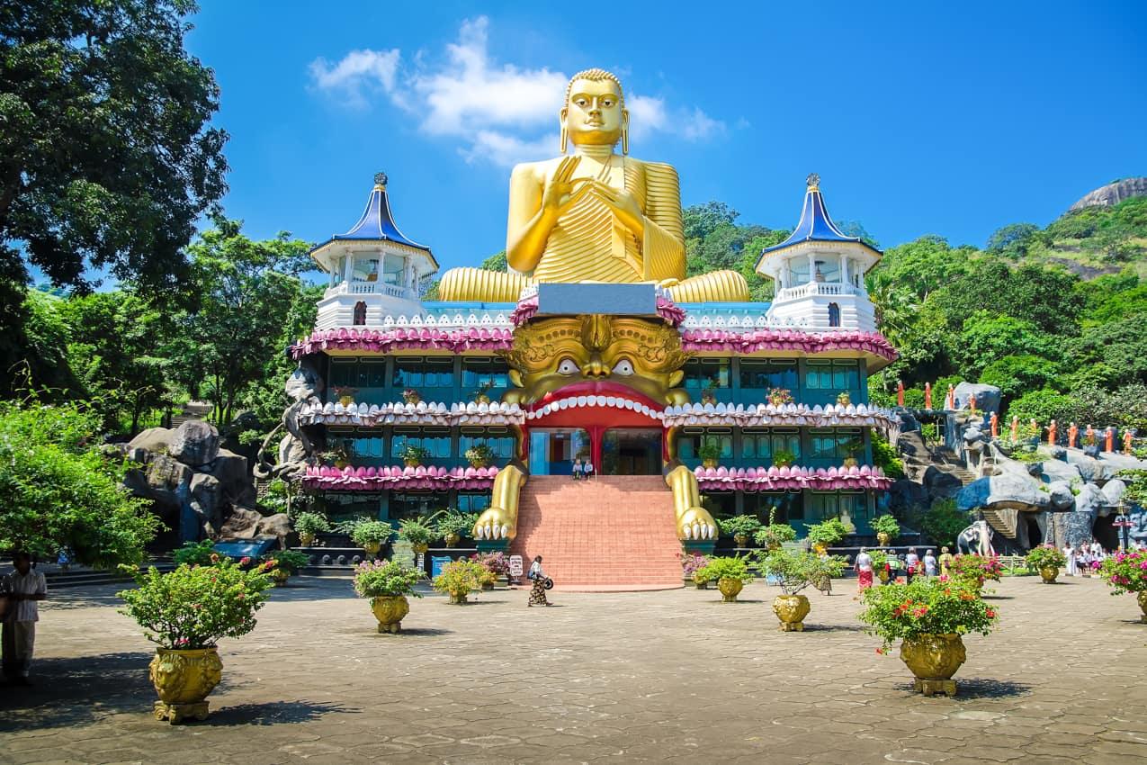 Atração turística Templo Dambulla, Sri Lanka