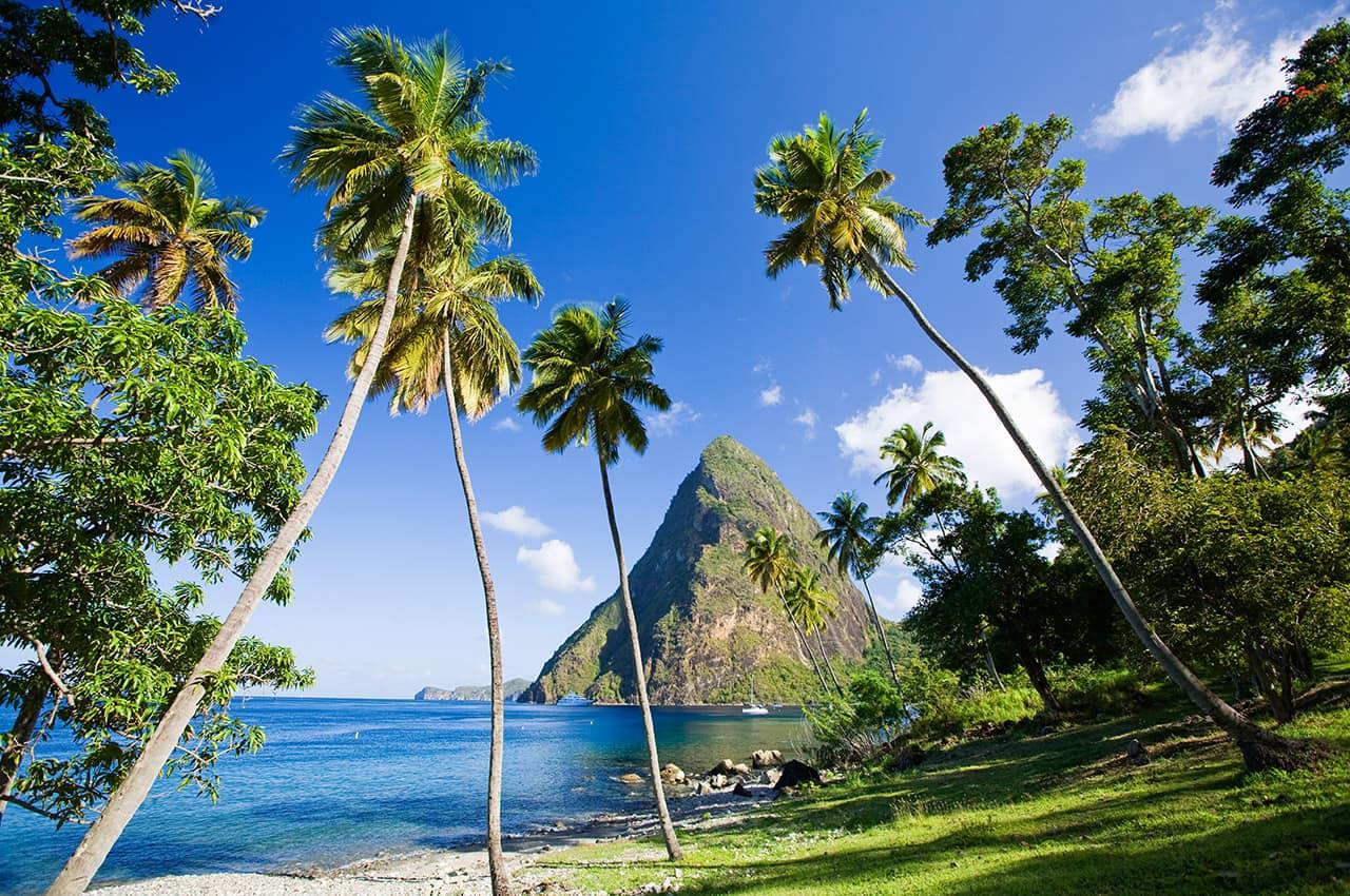 Montanha Petit Piton, St. Lucia