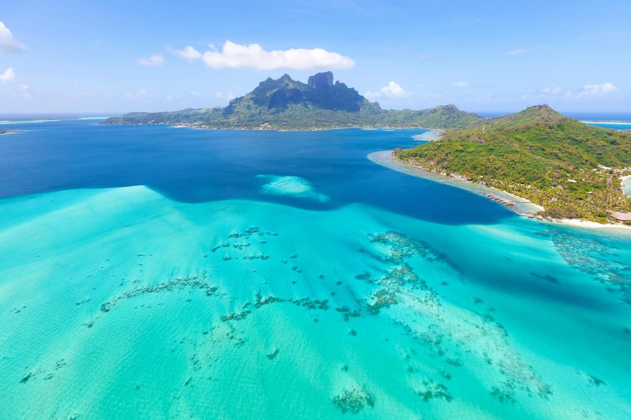Bora Bora Otemanu Tahiti Polinésia Francesa