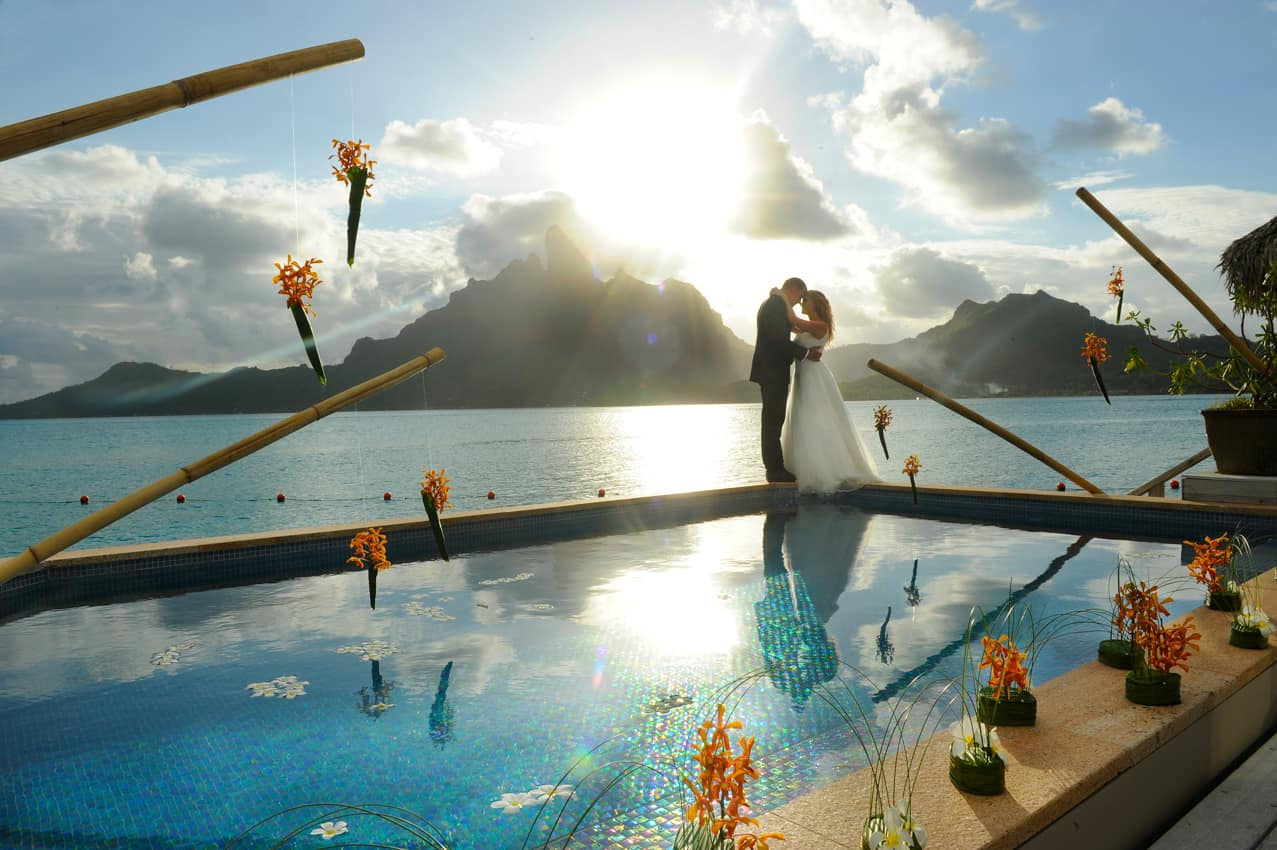 Casamento St Regis Bora Bora Resort