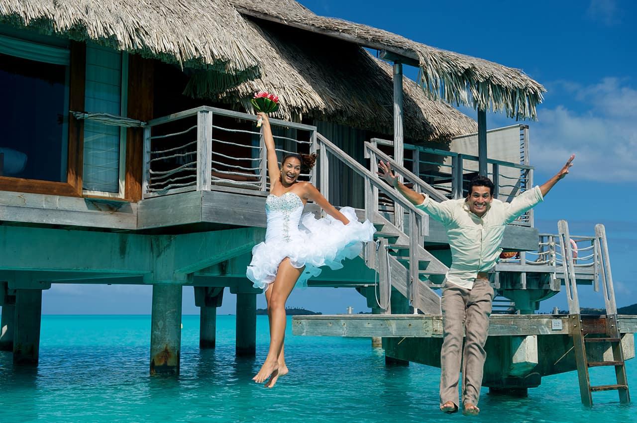 Pacote Tahiti, Casamento InterContinental Bora Bora Resort & Thalasso Spa