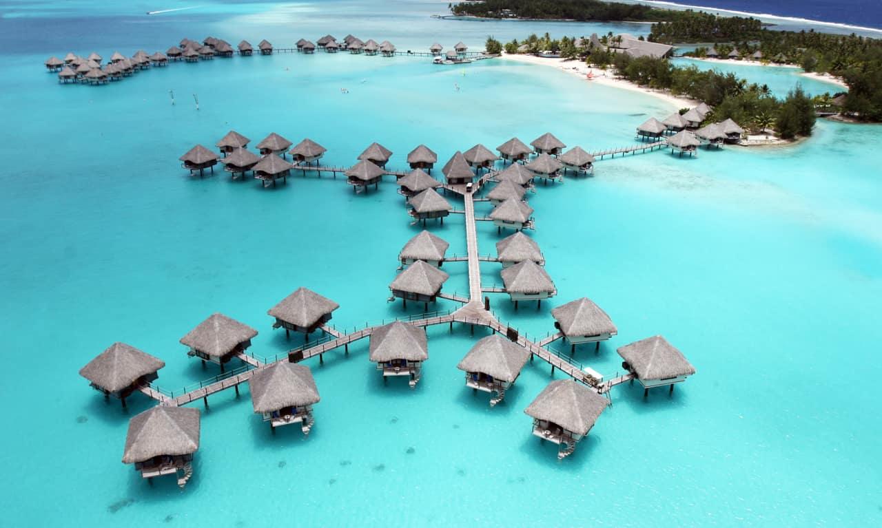 Pacote Tahiti, Le Meridien Bora Bora