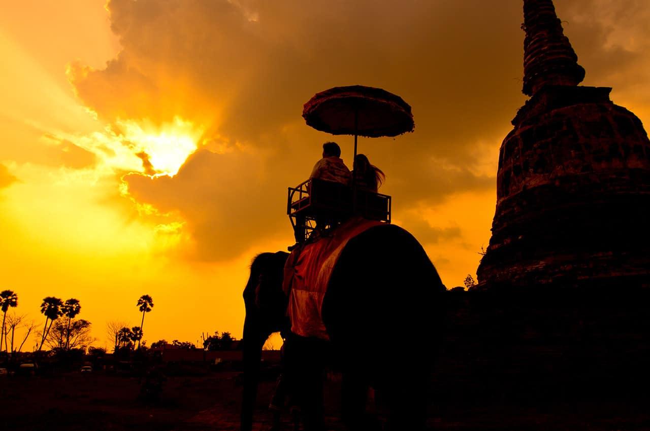 Atividades turísticas na Tailândia