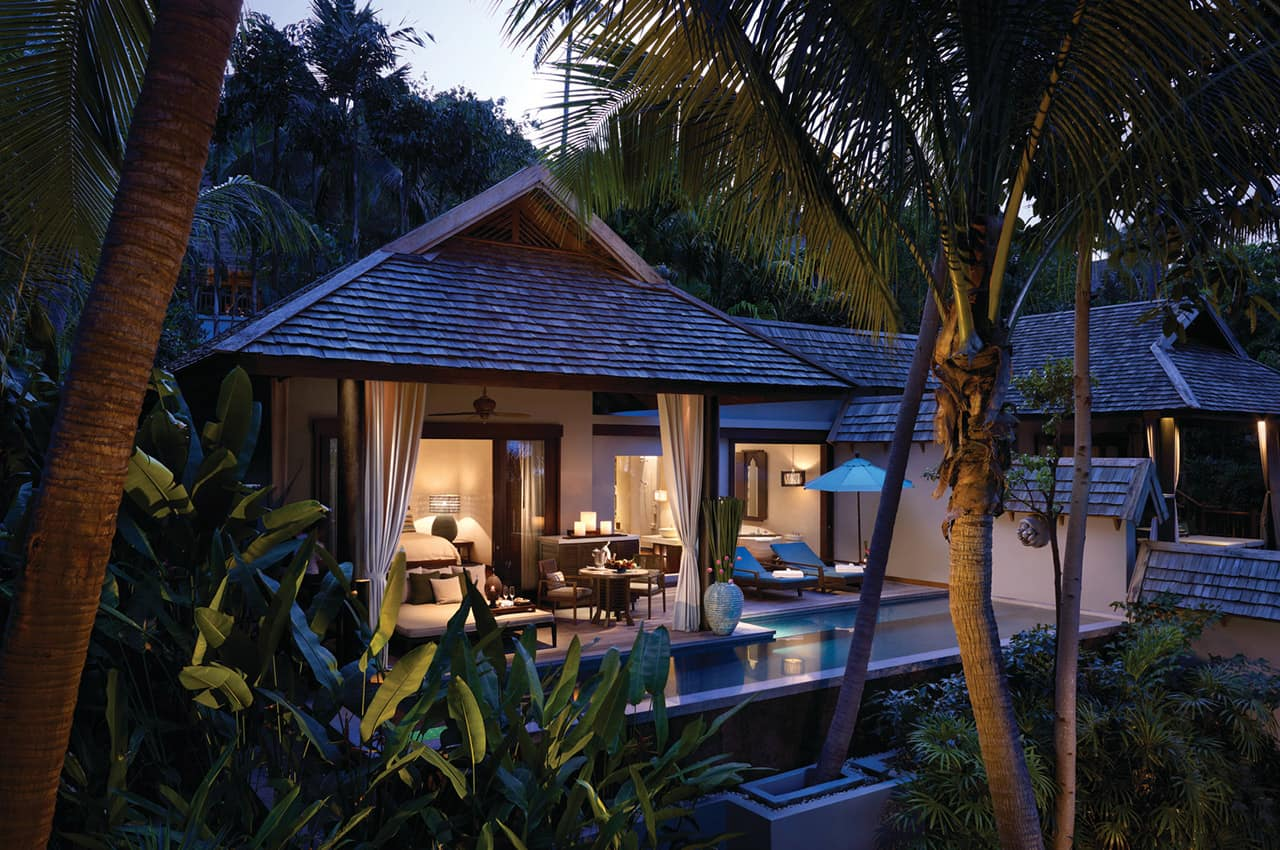 Deluxe one bedroom villa kohsamui for seasons