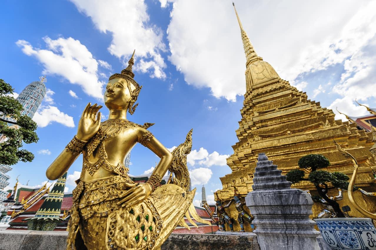 Grande Palácio Ki-Nara, Bangkok, Viagem Tailândia
