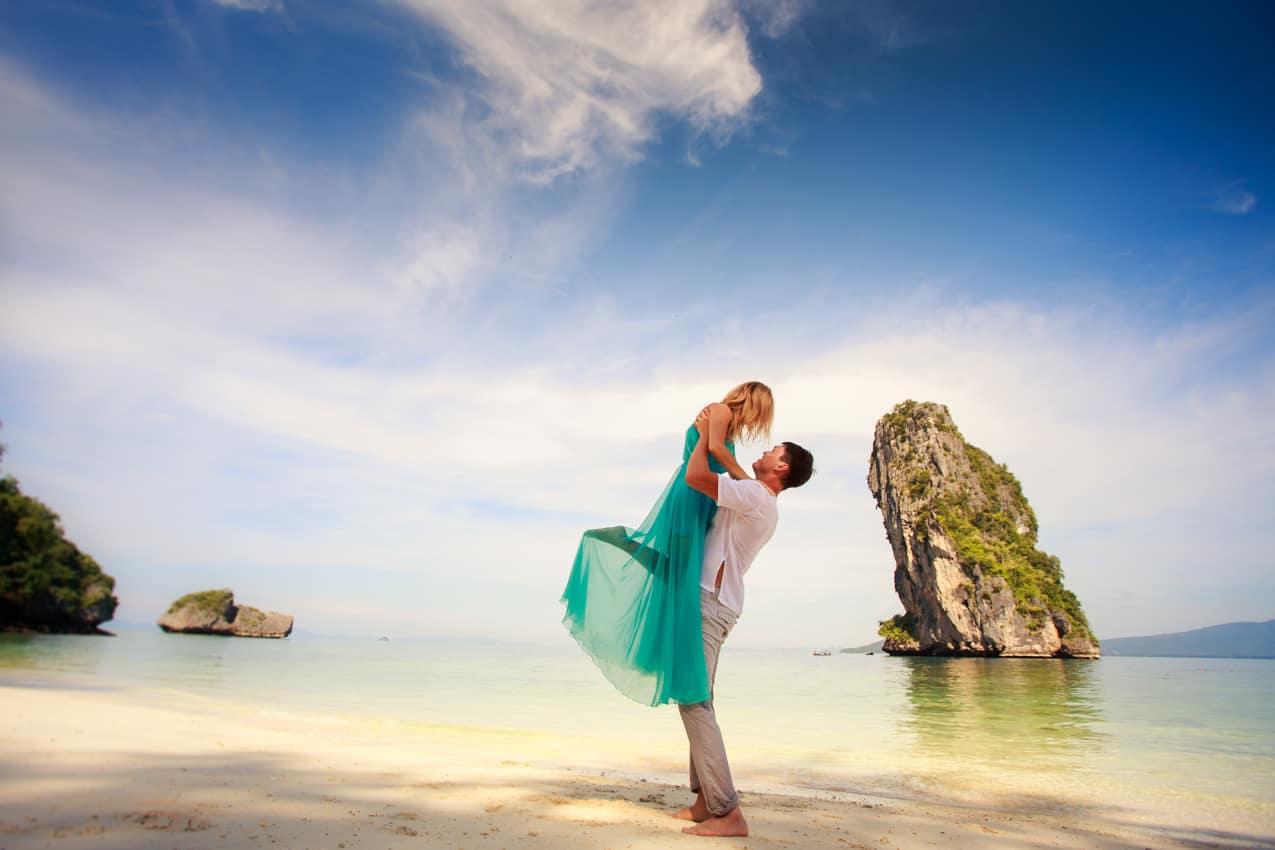 Lua de mel, Romance, Viagem Tailândia