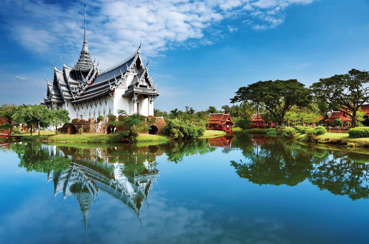 Sanphet Prasat, Cidade antiga, Bangkok, Pacote Tailândia