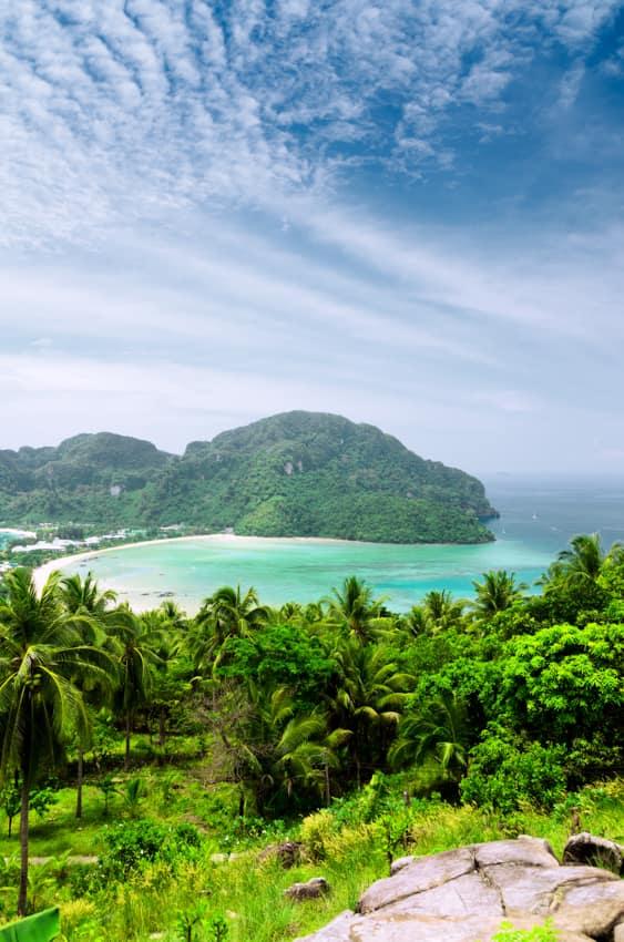 Turismo viagem ilha Phi Phi, Tailândia
