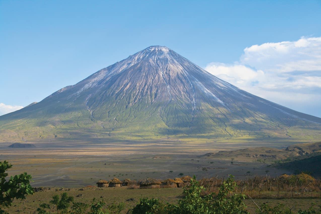 Aldeia Maasai vulcão Tanzânia
