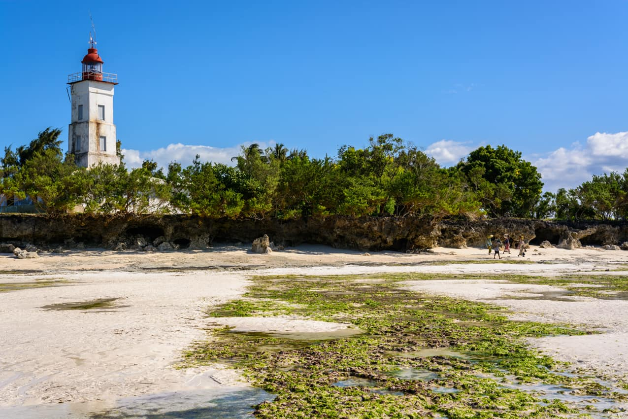 Atração turística praias ilhas Zanzibar Tanzânia