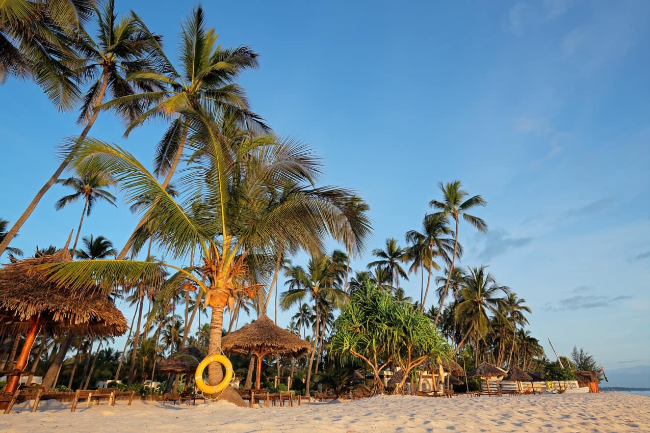 Praia Zanzibar Tanzânia