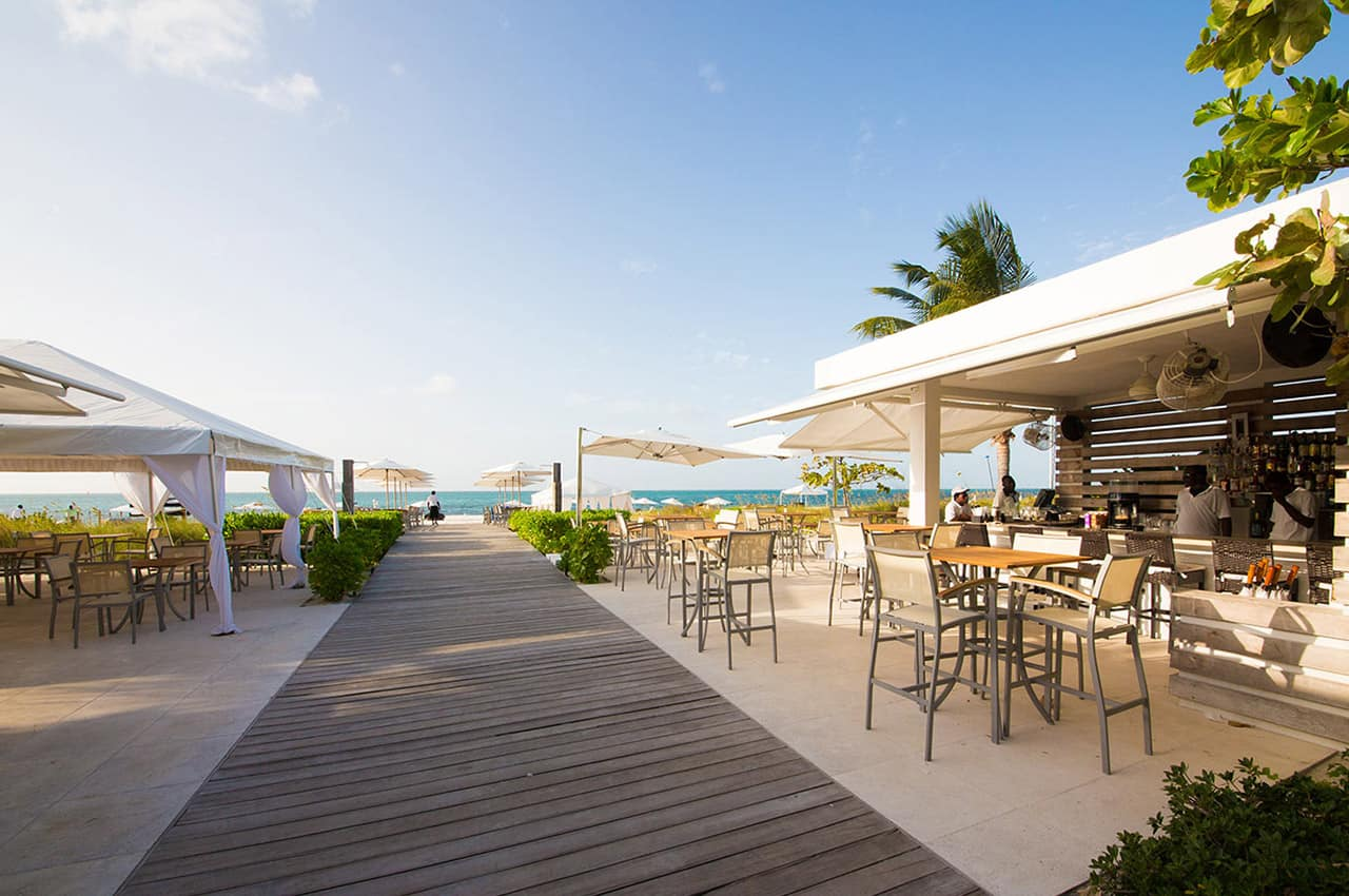 Pacote Caribe, Restaurante, Gansevoort, Providenciales, Turks and Caicos Hotel