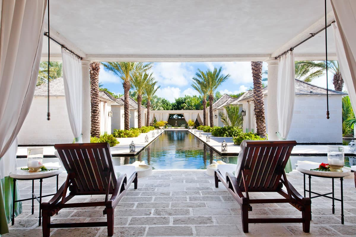 Piscina Spa, The Palms Turks and Caicos